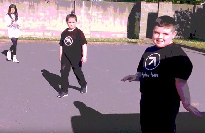 aphex twin new video teenage director