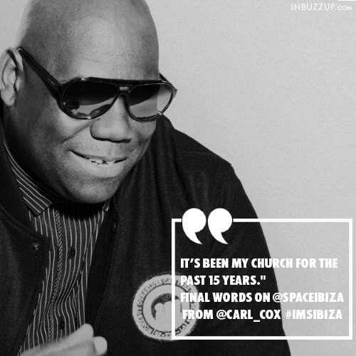 carl cox quotes