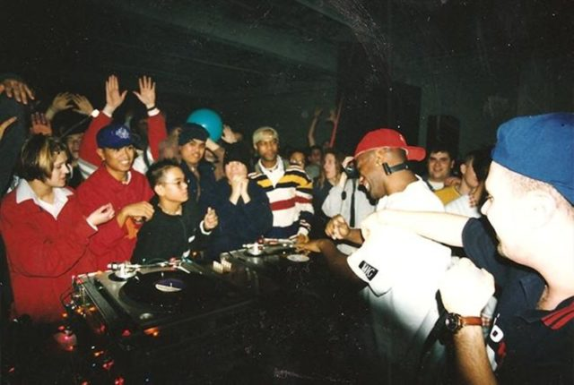rave in the 90s