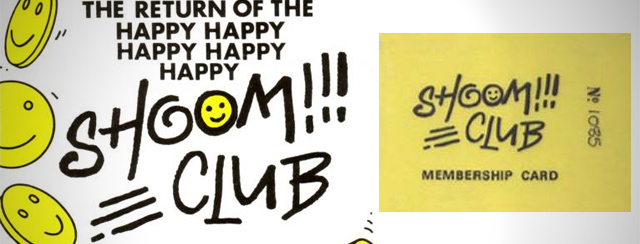 Shoom flyer acid house