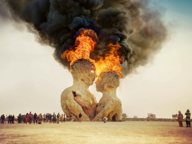 Lee Burridge - Robot Heart - Burning Man 2016