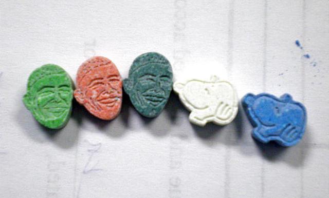 cartoon ecstasy design mdma