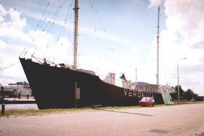 This old pirate radio ship will be a new club in Amsterdam